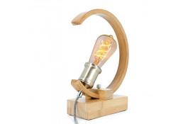 Lampe de table BAMBOU Naturel incurvé...
